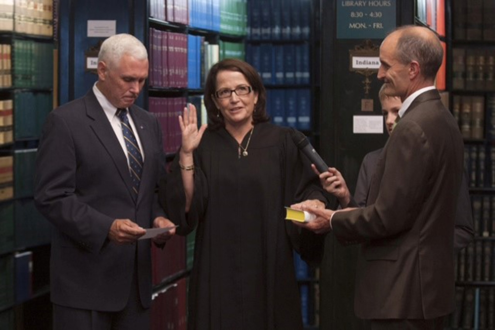 Rush sworn in as first female Chief Justice of Ind. Supreme Court ...