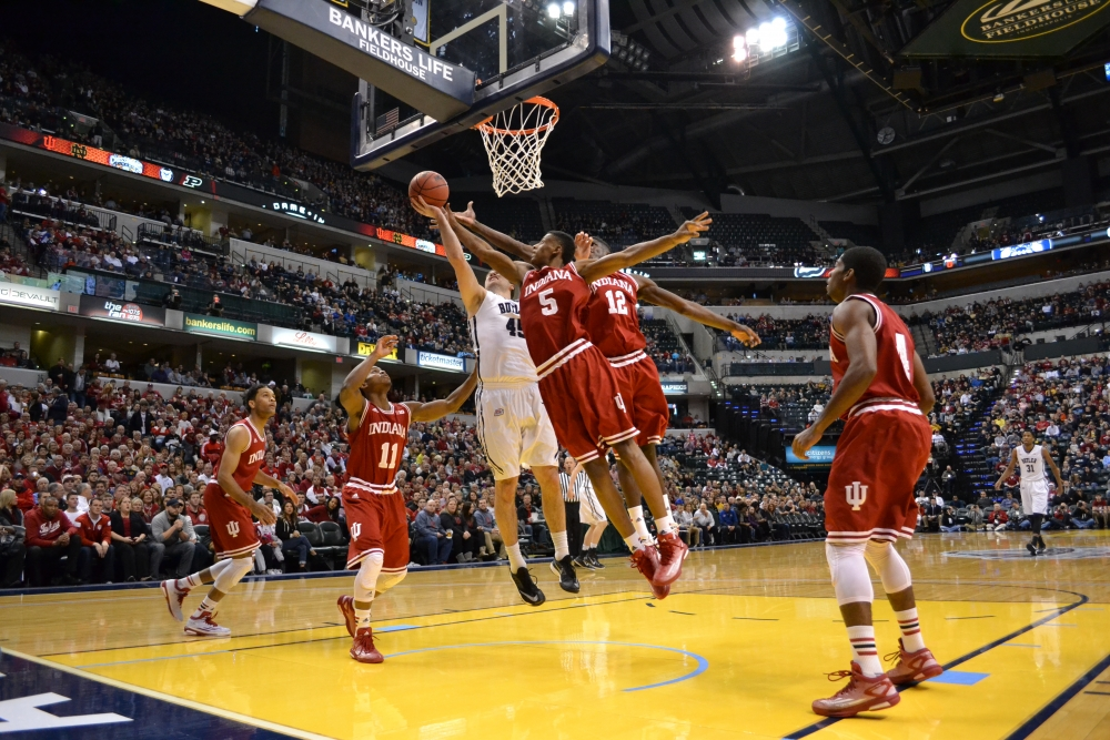 Two-man show sparks IU against Butler