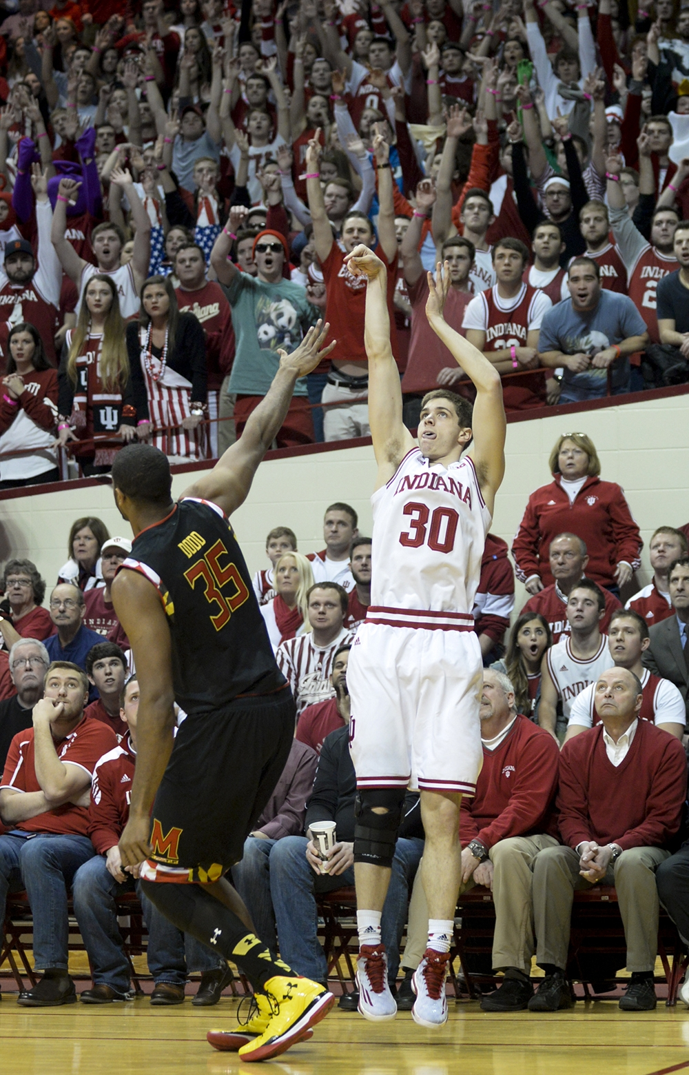 Hoosiers better with more shooters on the floor