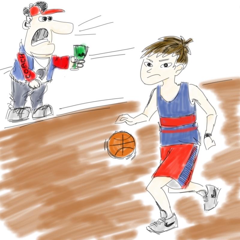 student athletes illo
