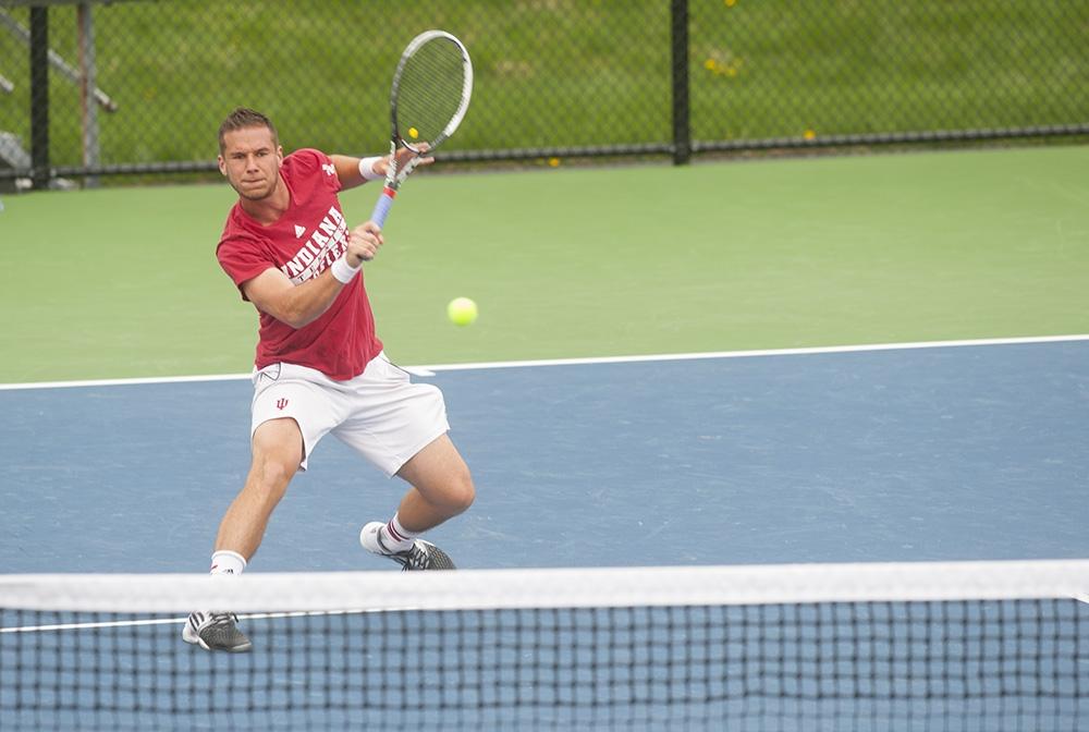 Indiana Daily Student: :: IU men's tennis plays Michigan ...
