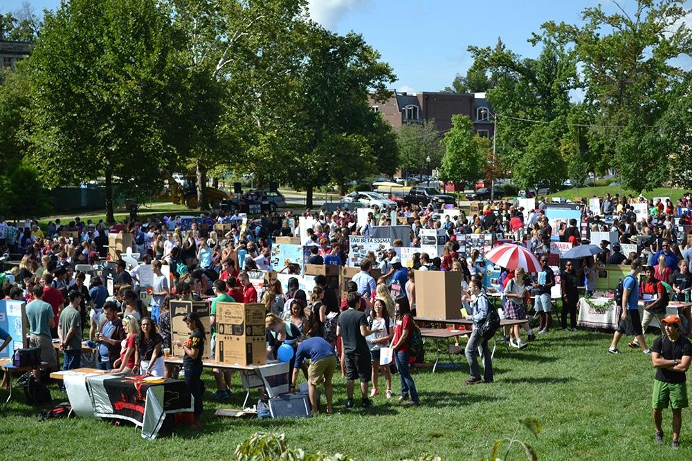 Students, organizations look forward to involvement fair